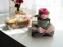 桜かおるクッキー&プリザ【シャーベットローズ】