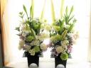 季節のお花でお供え 1対