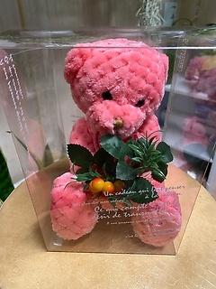 ピンクのくまちゃん