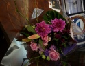 花材おまかせ ☆紫系花束☆