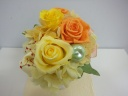 ~yellow&orangeプリザー~