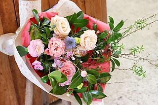 淡pink 花束