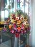 御祝い生花スタンド