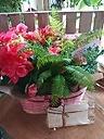 カーネーションと季節のお花たちセット