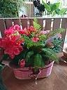 カーネーションと季節のお花達セット