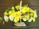 黄色のビタミンアレンジメント