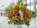 オレンジバルーンスタンド