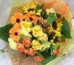 元気色の花束