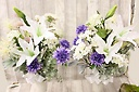 お墓用の御供えの花(アートフラワー)