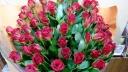 赤バラ【60本】花束