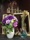 紫の贈り物 永久花 プリザーブドフラワー
