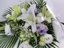 百合のお供え花束