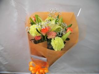 明るい花束