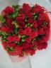 情熱の赤い花束