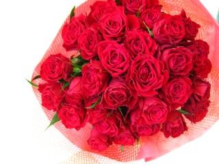 情熱溢れる花束