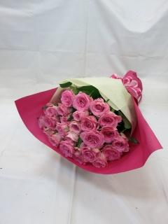 ピンクバラの花束?気品?