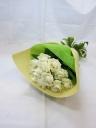 白いバラの花束~清純~