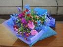 【ブルーパープルの花束】
