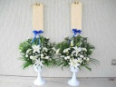 【供花~お葬儀にチューリップコンポート】