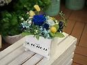【ピアノプリザ】ブルー&イエロー